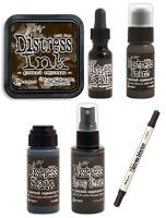 Ranger August Tim Holtz Distress Color - Ground Espresso