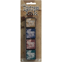 Ranger Mini Distress Ink Pad by Tim Holtz - Kit # 12
