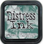 Ranger Distress Ink Pad - Pine Needles