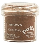 Ranger Embossing Puffs - Puff Brown (1 oz)