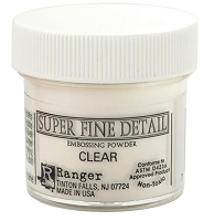 Ranger - Super Fine Embossing Powders (1 oz) - Clear