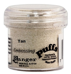 Ranger Embossing Puffs - Puff Tan (1 oz)
