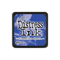Ranger - Tim Holtz Mini Distress Ink Pad - Blueprint Sketch
