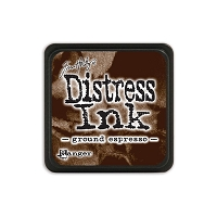 Ranger - Tim Holtz Mini Distress Ink Pad - Ground Espresso