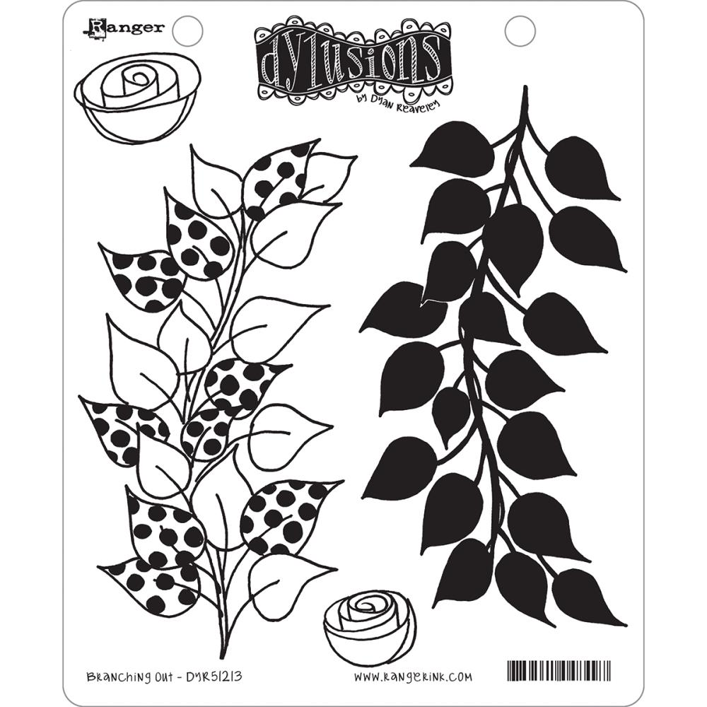 Dylusions Rubber Stamps