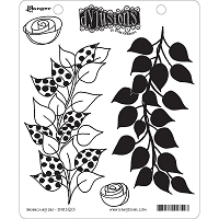 Dylusions - Cling Rubber Stamps - Branching Out