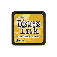 Ranger - Tim Holtz Mini Distress Ink Pad - Fossilized Amber