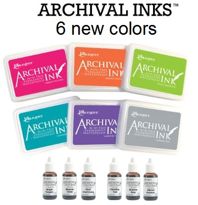 Ranger - Archival Inks (Pads & Reinkers)