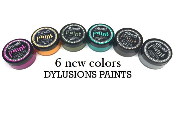 Ranger - 6 new colors of Dylusions Paints