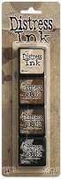 Ranger Mini Distress Ink Pad by Tim Holtz - Kit # 3