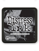 Ranger - Tim Holtz Mini Distress Ink Pad - Black Soot