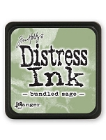 Ranger - Tim Holtz Mini Distress Ink Pad - Bundled Sage
