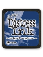 Ranger - Tim Holtz Mini Distress Ink Pad - Chipped Sapphire