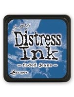 Ranger - Tim Holtz Mini Distress Ink Pad - Faded Jeans