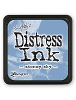 Ranger - Tim Holtz Mini Distress Ink Pad - Stormy Sky