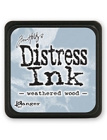 Ranger - Tim Holtz Mini Distress Ink Pad - Weathered Wood
