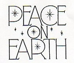 Rubber Stamp Avenue-Cling Rubber Stamp-Peace on Earth