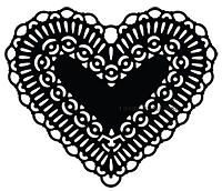 Savvy Stamps - Die - Heart Doily
