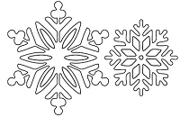 Savvy Stamps - Die - Winter Snowflakes