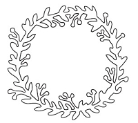 Savvy Stamps - Die - Garden Wreath