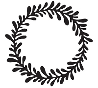 Savvy Stamps - Die - Wreath