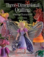 Search Press - Three-Dimensional Quilling:  Making Characters by Jane Jenkins