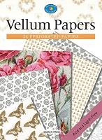 Search Press - Vellum Papers (24 Perforated Papers)
