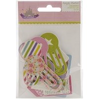 Simple Stories - Enchanted Collection - Die cut cardstock Clips
