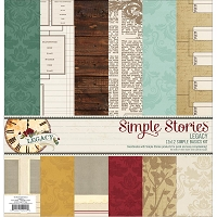 Simple Stories - Legacy Collection - Simple Basics Paper Kit