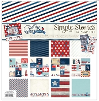Simple Stories - Sea to Shining Sea collection