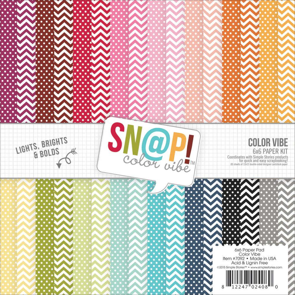 Simple Stories - Color Vibe II paper packs