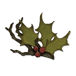 Sizzix Bigz Die - Tim Holtz Holly Branch