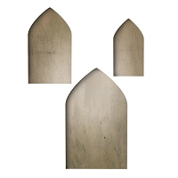 Sizzix - Movers & Shapers Magnetic Die - 3 Pack - By Tim Holtz - Sized Arches