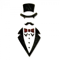 Sizzix - Bigz Die by Tim Holtz - Dapper