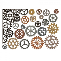 Sizzix - Thinlits Die Set by Tim Holtz - Gearhead