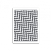 Sizzix - Textured Impressions Embossing Folder by Tim Holtz - Houndstooth