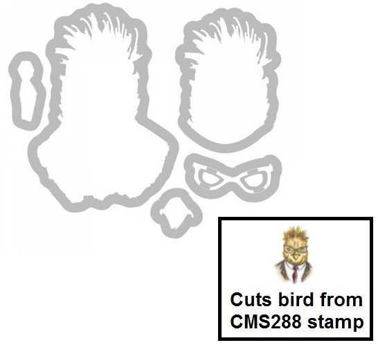 Sizzix - Tim Holtz Hipster dies (to match CMS288 stamp)