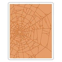 Sizzix - Texture Fades Embossing Folder by Tim Holtz - Cobwebs