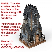 Sizzix - Bigz Die by Tim Holtz - Village Manor (requires Village Dwelling die)