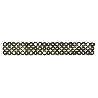 Sizzix Tim Holtz Sizzlits Decorative Strip Die - Washer Border