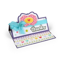 Sizzix - 3 new card making dies from Stephanie Barnard