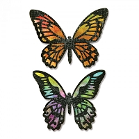 Sizzix - Thinlits Die Set by Tim Holtz - Detailed Butterflies