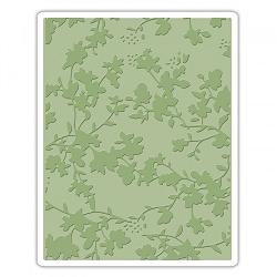 Sizzix - Texture Fades Embossing Folder by Tim Holtz - Floral