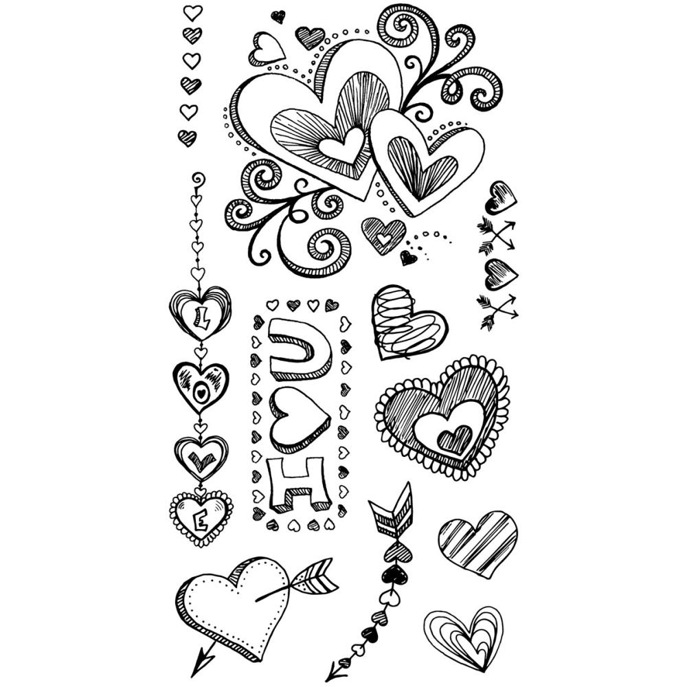 Sizzix Clear Stamps by Courtney