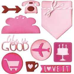 Sizzix - Thinlits Die Set - Planner Page Icons