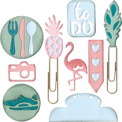 Sizzix - Thinlits Die Set - Planner Page Icons #2