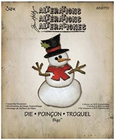 Sizzix - Bigz Die by Tim Holtz - Assembly Snowman