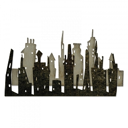 Sizzix - Thinlits Die Set by Tim Holtz - Cityscape Skyline