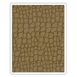 Sizzix - Texture Fades Embossing Folder by Tim Holtz - Croc