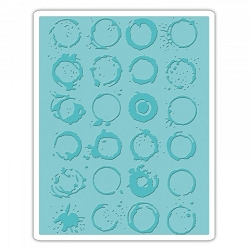 Sizzix - Texture Fades Embossing Folder by Tim Holtz - Ringer